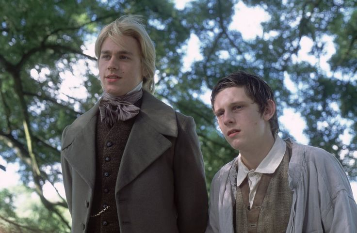 Nicholas Nickleby (Charlie Hunnam) and Smike (Jamie Bell) The Life and Adventures of Nicholas Nickleby by Charles Dickens