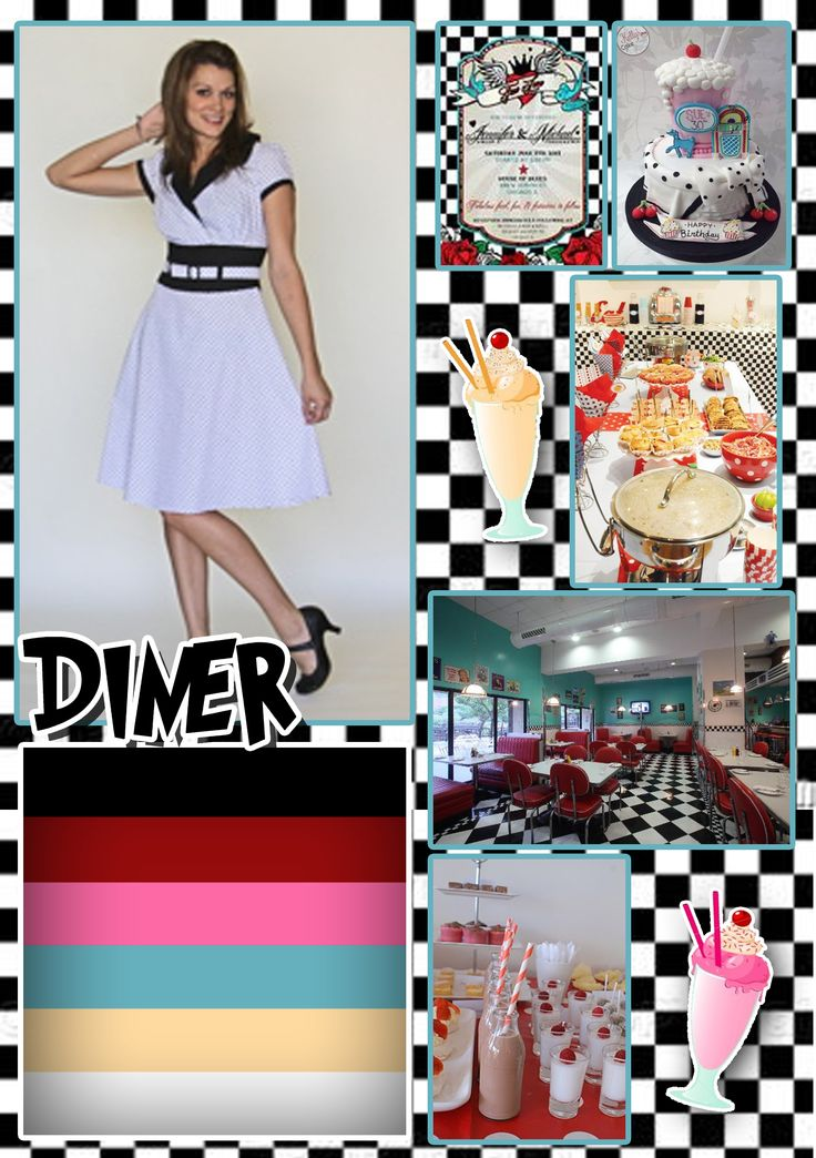 Wedding in diner style