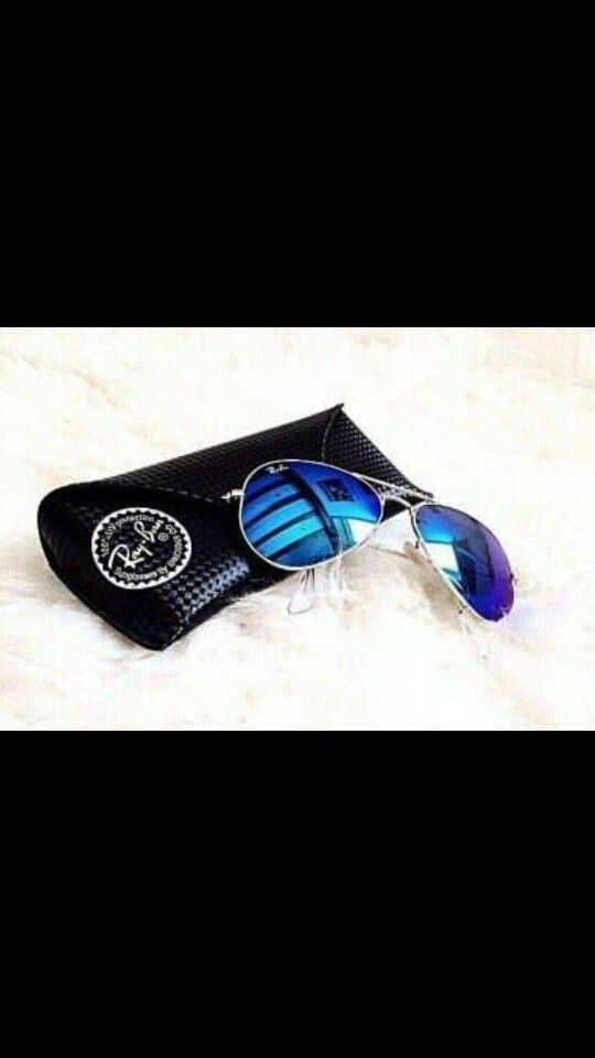 Blue Ray Ban's