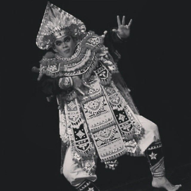 Baris - A Balinese Solo Male Traditional Dance Performance