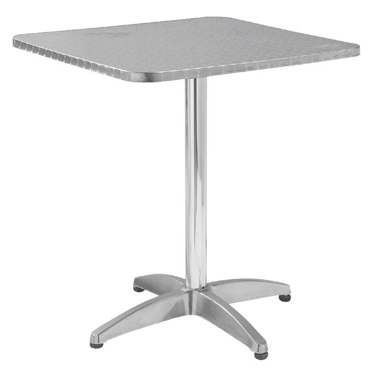 Palma garden food table aluminum 70x70x70 Ε284,3