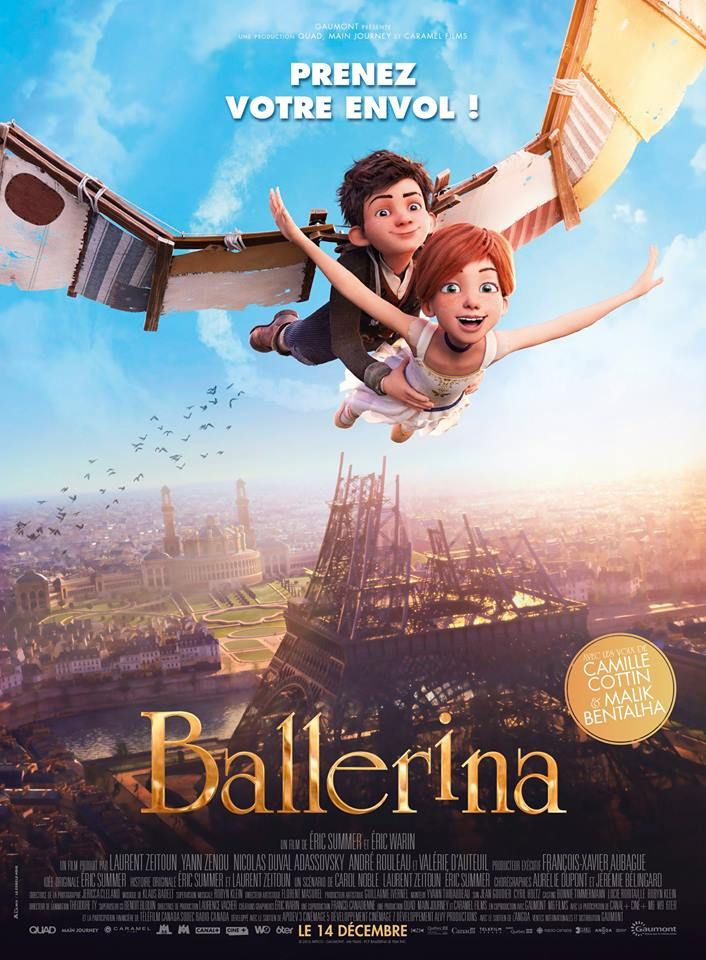 #BALLERINA : film d'animation made in France