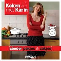 Karin Luiten schreef 'Koken met Karin, zonder pakjes en zakjes'. Een boek dat niet speciaal gericht is op een natriumarm dieet, maar wat wel heel veel recepten bevat die prima zonder zout bereid kunnen worden. Een echte aanrader dus als je van de pakjes en zakjes af wilt, en bijvoorbeeld sauzen zelf wilt gaan maken!