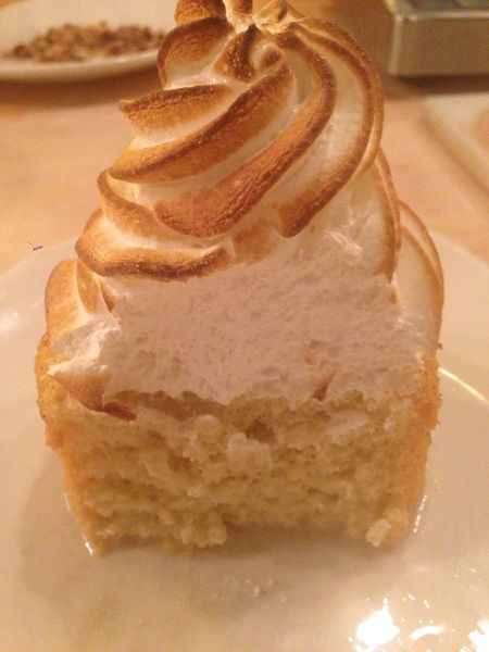 Uh, oh. Just tasted rompope (rummy Mexican eggnog) tres leches. Starts ...