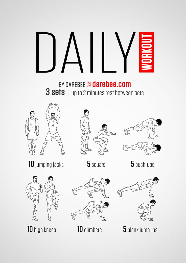 daily exercise Exercising regularly has many benefits for your body and brain  therefore,  daily physical activity is recommended to reduce belly fat and.