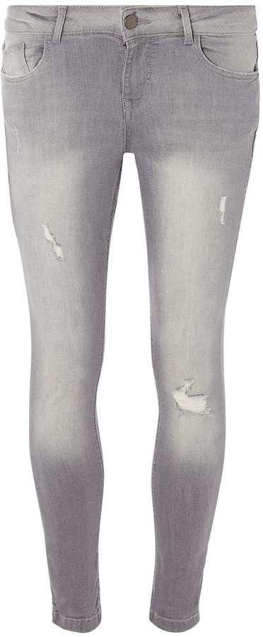 Petite Grey Casey Jeans