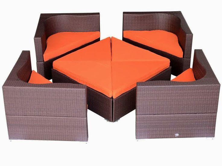 Discount 60% Outsunny 8 pc Deluxe Outdoor Patio PE Rattan Wicker Sofa Se...