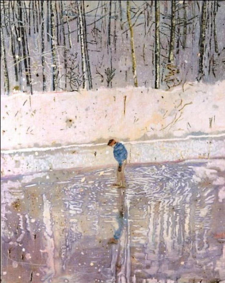 Питер Дойг -  Blotter  (1993) - Открыть в полный размер современное искусство Питер Дойг