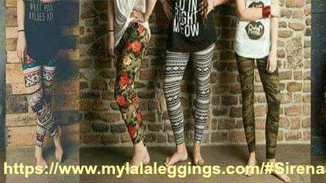 LaLa Leggings are super soft and trendy leggings to wear to whatever you want, day out, night out, Yoga or a milkshake run.  Stay Glam Chicas https://www.mylalaleggings.com/#Sirena  https://www.facebook.com/vee.torres.522
