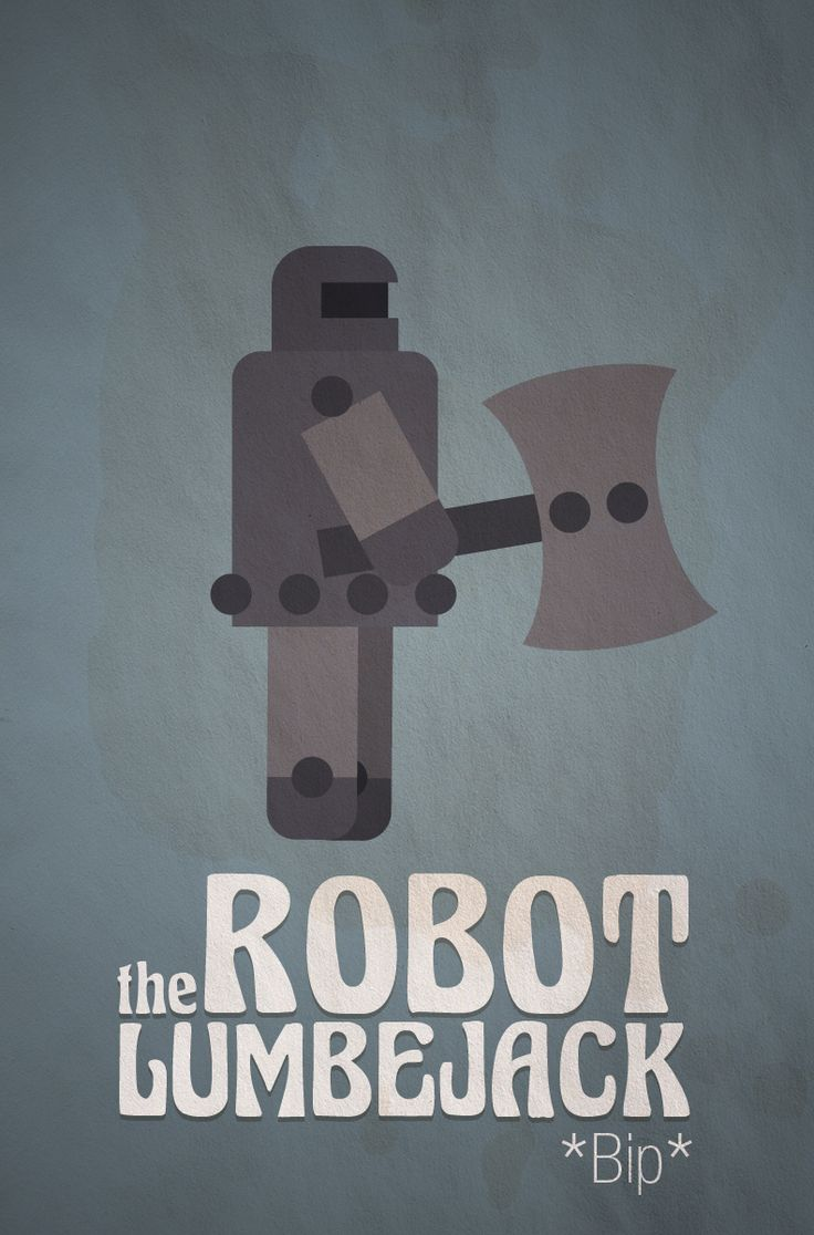 bud #Game Character — the Robot Lumberjack  Play bud at : http://www.newgrounds.com/portal/view/565439