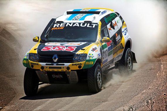 Раллийные внедорожники Renault Duster Dakar 2016 / Рено Дастер Дакар 2016