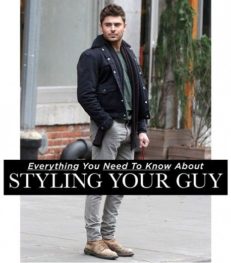 Everything You Need To Know About Styling Your Guy // Who What Wear | by expert stylists and designers of Hollywood, GQ and more