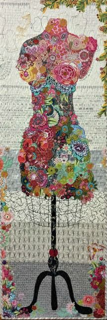 Perfect Form...Dress form collage kit  by Laura Heine