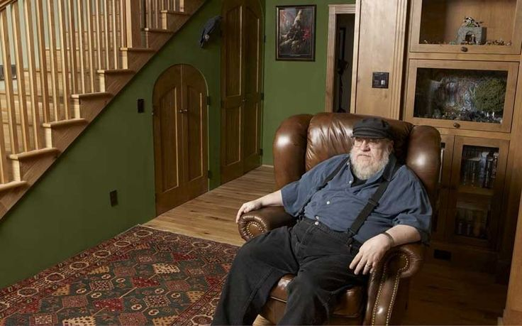 Game of Thrones: Interview with George RR Martin. The man himself