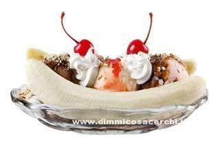 Come fare la banana split a casa - DimmiCosaCerchi.it