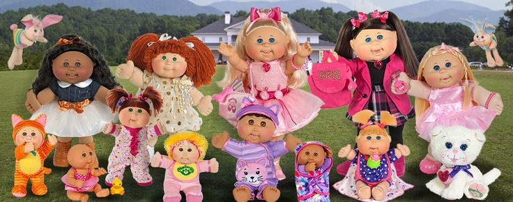 Toy Cabbage Patch Kids & Accessories