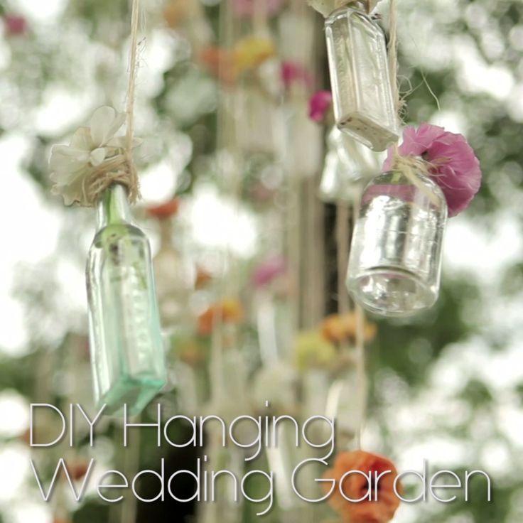 Outdoor Wedding Bathroom Ideas: Watch This: DIY Hanging Wedding Garden
