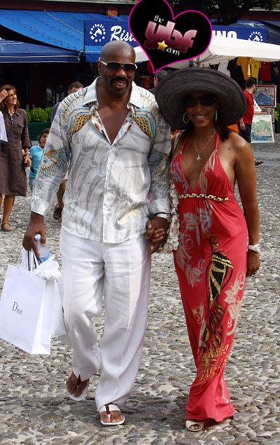 Steve Harvey Young Wife | NIGHTCAP: Steve Harvey & Wife Vacay In Italy | The Young, Black, and ...