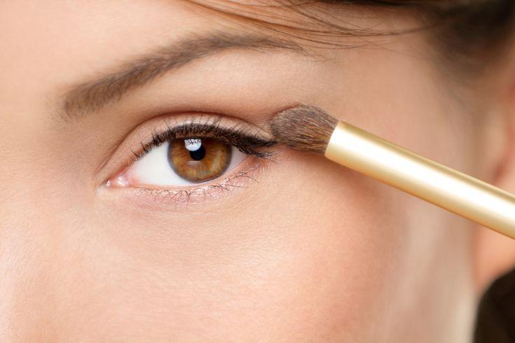 Braune Augen professionell schminken