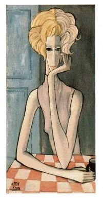 By artist Margaret Keane 1964 (title unknown)