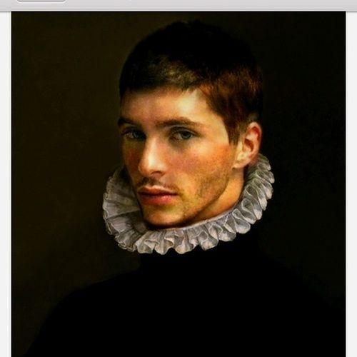 Portrait of a man, by schenk-schwartz.  16th century