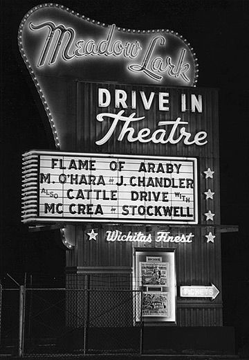 50s Drive-In Theaters -