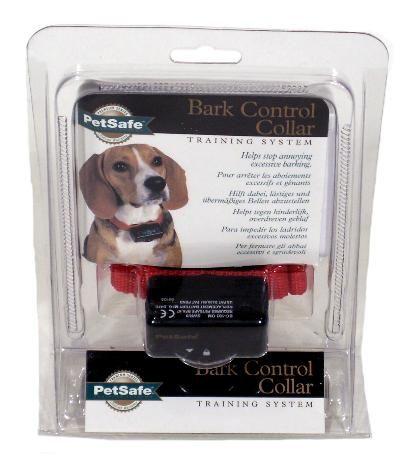 Petsafe pbc19-10765 bark control collar 6 niveau's  de bark control collar is geschikt voor de meeste honden. de bark control collar is een apparaatje aan een halsband. en reageert op het blaffen van de hond door middel van een contact puntje die de trillingen van de stembanden waarneemt. wanneer de hond blaft komt er een piepsignaal gevolgd door een lichte statische correctie. deze correctie loopt automatisch op in 6 niveaus als de hond na de eerste correctie niet ophoudt met blaffen. de…