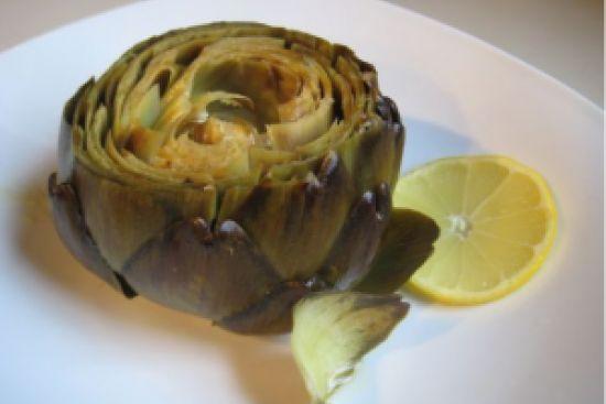 Garlic & Lemon Roasted Artichokes