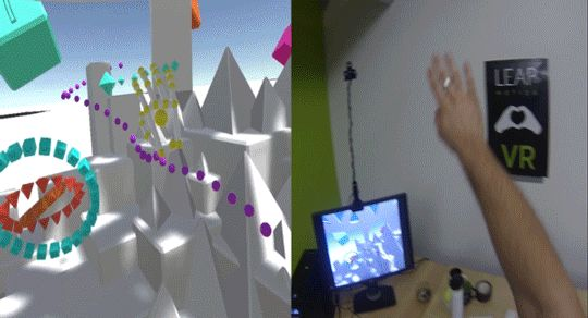Has the Leap Motion VR project Orion solved one of the biggest problems with Virtual Reality on phone devices? From the looks of this demo it looks like it!