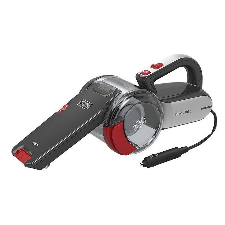 Black & Decker Automotive Pivot Hand Vacuum, Multicolor - BDH1200PVAV