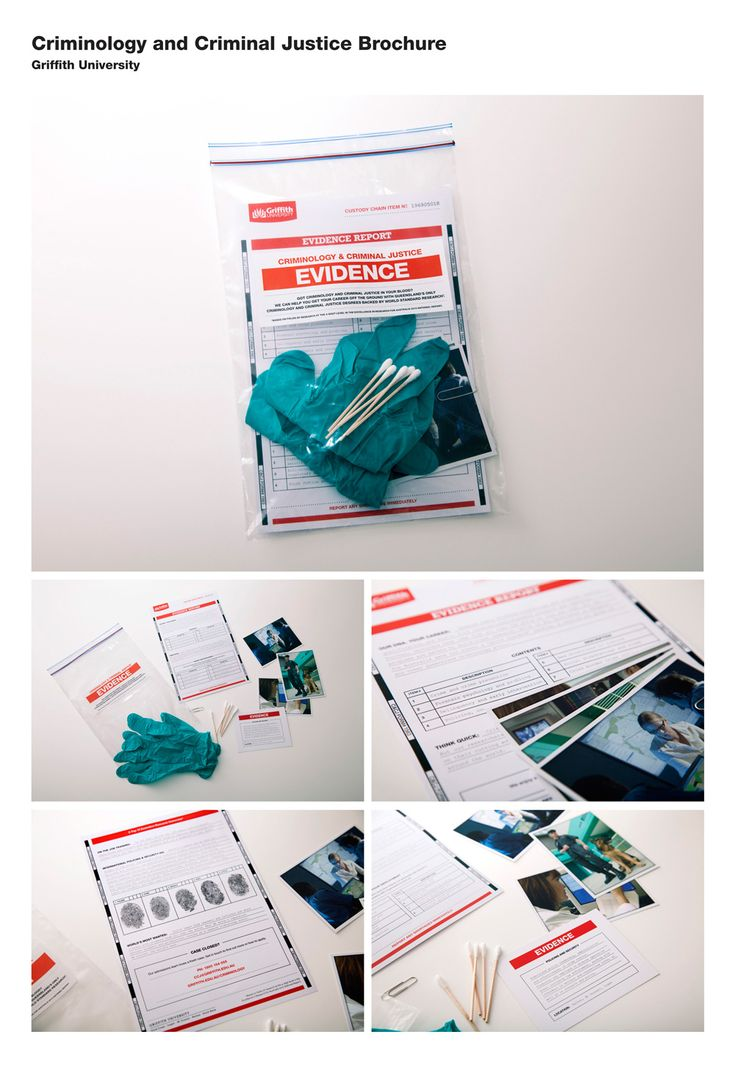 Creative brochure from Griffith