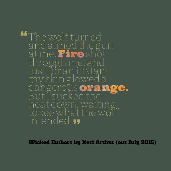 Teaser 3 from Wicked Embers, out July 2015