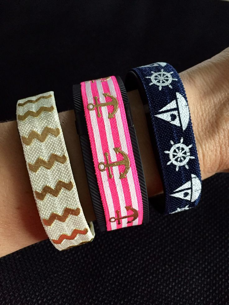 www.BananaWindDesign.etsy.com. Fashionable Bands for fitness tracking devices - Fitbit Flex, Fitbit Charge, Fitbit ChargeHR