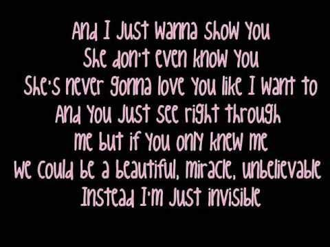 taylor swift love quotes invisible | Taylor Swift - Invisible [Lyrics] | Burning Red