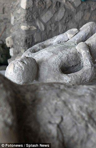 Many of the buildings, artefacts and skeletons were found intact under a layer of debris...