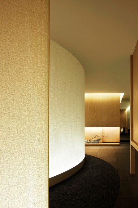 Sensual curves are combined with clean straight lines and for Straight line interiors