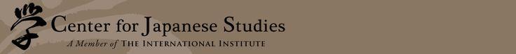 Links for Teachers & Students   Center for Japanese Studies   University of Michigan