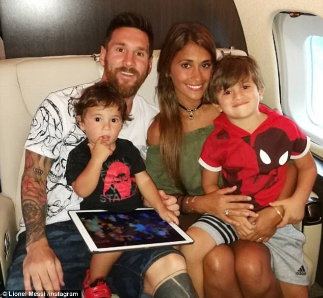 Third Child On Way For Lionel Messi And His Wife Antonella Roccuzzo