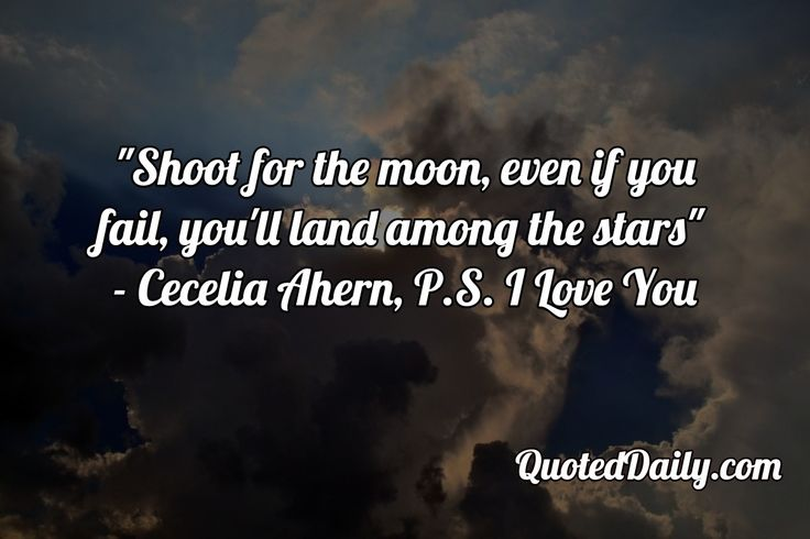 Cecelia Ahern, P.S. I Love You Quote - More at QuotedDaily.com