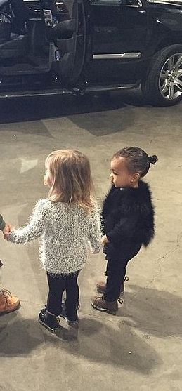We're wearing what North West wore to Disney on Ice to work tomorrow.