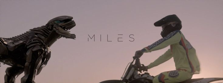 'MILES', A Proof-of-Concept Short Film About a Friendship Between a BMX Rider and a Robotic Beast