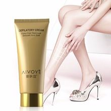 AIVOYE Brand Depilatory Cream 60g Body Natural Remove Permanent Hair Removal Cream Total Body Arms Armpits Legs Chest Painless(China)