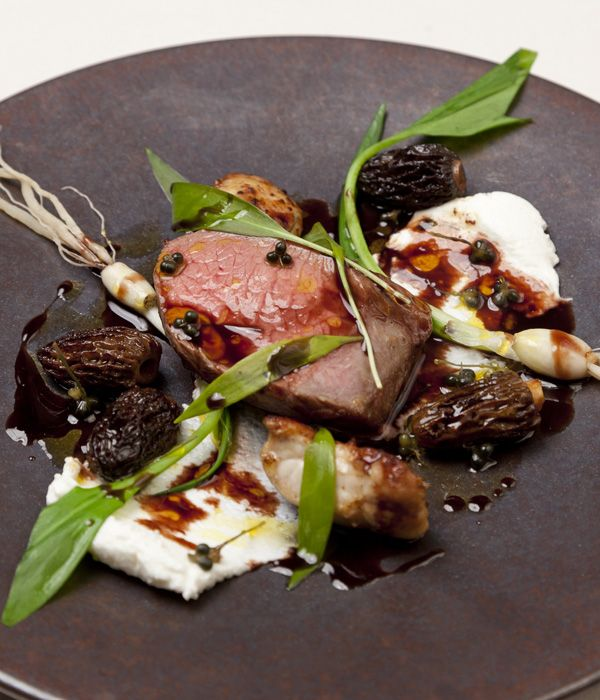 This exquisite lamb chump recipe uses the overlooked cut to dazzling effect, creating a dish bursting with spring flavours. The wild garlic buds in this recipe are a stroke of genius and can be foraged. - David Everitt-Matthias
