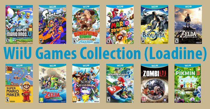Pin On Wiiu Games Collection
