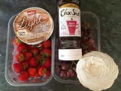 Slimming World Low Syn Choc Shot Dessert. Make meringues with sweetener to make syn free.