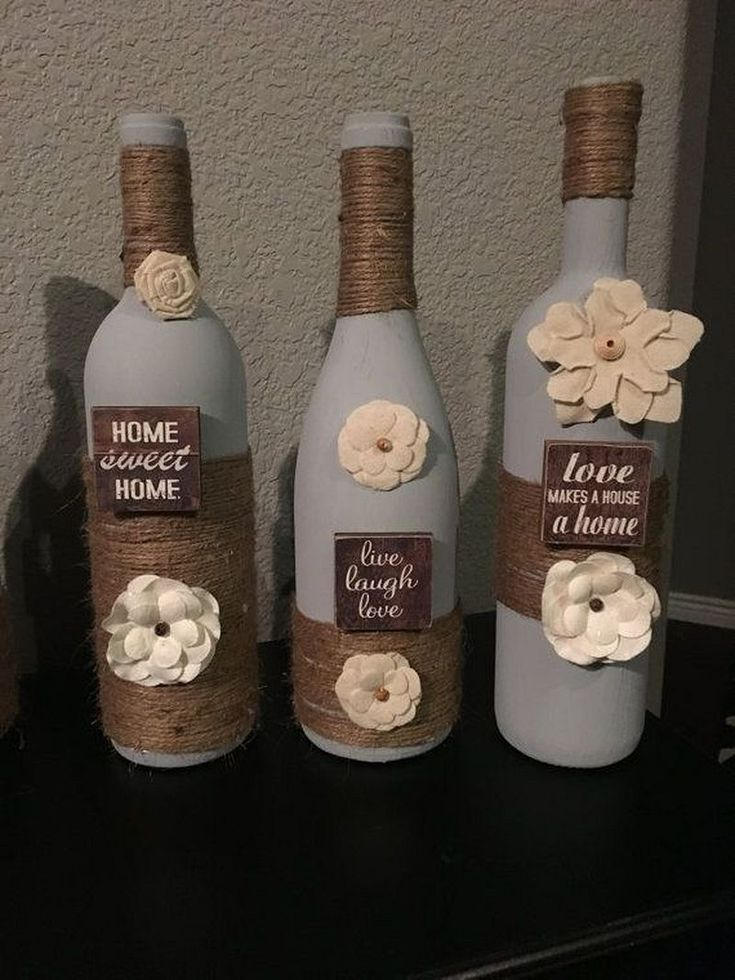 Uniqie And Creative DIY Crafts From Empty Wine Bottles 3 ...