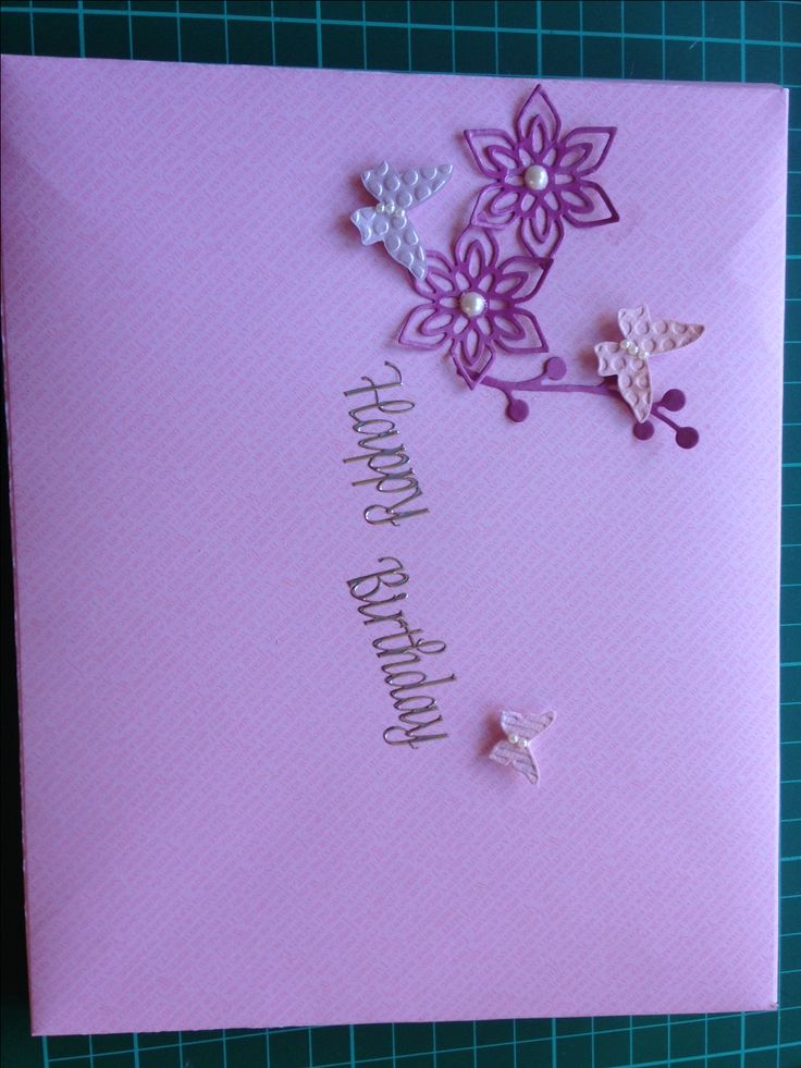 Envelope for Cascading Card made using Stampin'Up Envelope Score/ Punch Board.