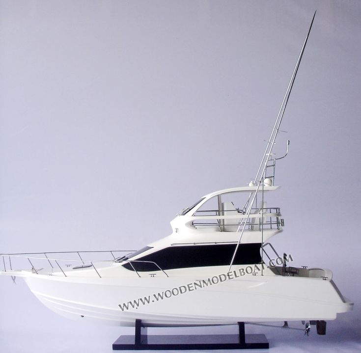 Toyota Ponam yacht model ready for display