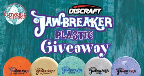 Discraft Jawbreaker Giveaway - Win A Disc Golf Prize Package!... sweepstakes IFTTT reddit giveaways freebies contests