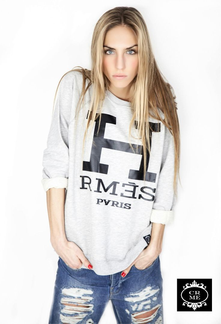 #Sudaderas con #mensajes divertidos relacionados con el mundo de la #moda. Buy it : http://vbinspiration.com/